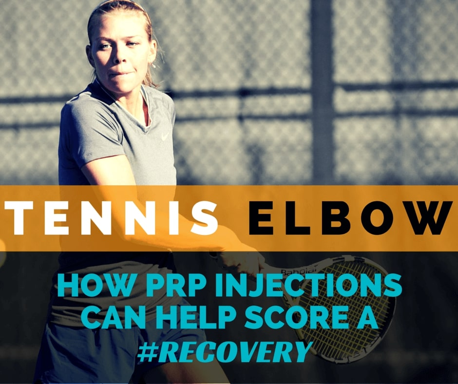 PRP Injection For Tennis Elbow: 5 Quick Tips [INFOGRAPHIC]