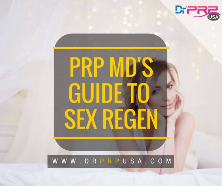 Platelet-Rich Plasma For Male Sexual Regeneration [INFOGRAPHIC]
