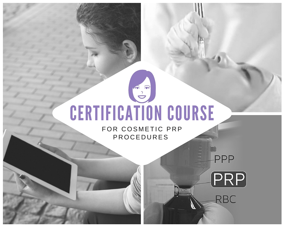 Online Training for Cosmetic PRP